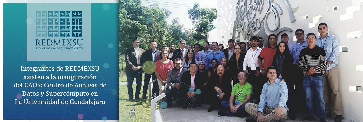 REDMEXSU asiste a la inauguración de CADS UDG